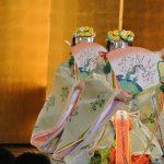 11.ホステスクラブSI鹿沼のお計らいにより、おごそかな中にも華やかな神楽舞「浦安の舞」が披露されました