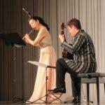 9.お楽しみでは、山形由美氏の素晴らしいフルートと、西村正秀氏のギター演奏に酔いしれました