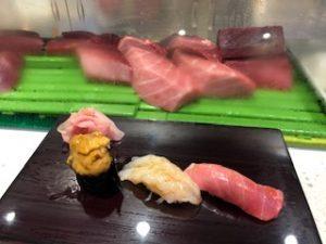 美味しいお寿司を頂きました