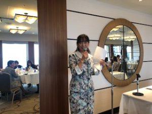松浦智恵美さんのアロマを使った病院での体験談をして頂く