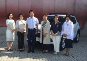佐藤栄一宇都宮市長を囲んで 同日夜9時のとちぎテレビ ナイトニュース9にて放映されました。